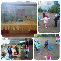 «Животные жарких стран» Эта неделя прошла для наших малышей очень интересно. К нам пришла в гости жительница жарких стран Надий, рассказала ребяткам о животных, а также она с ними  веселилась, танцевали танец Чунга – чанга и играли в различные игры .